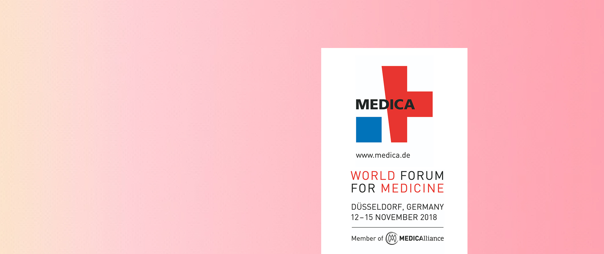 Presenti al World Forum for Medicine 2018