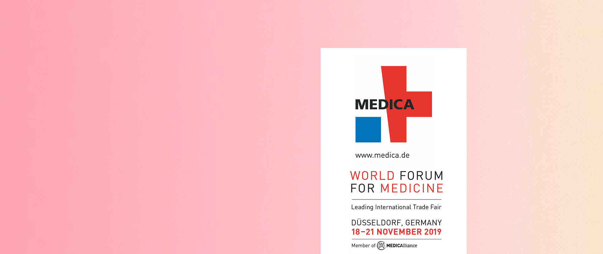 Presenti al World Forum for Medicine 2019